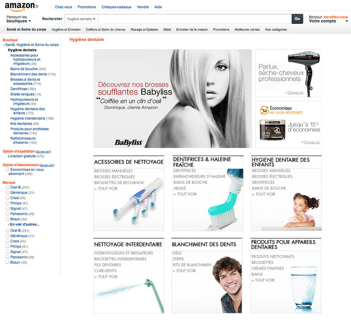 Amazon.fr Hygiene Dentalcare
