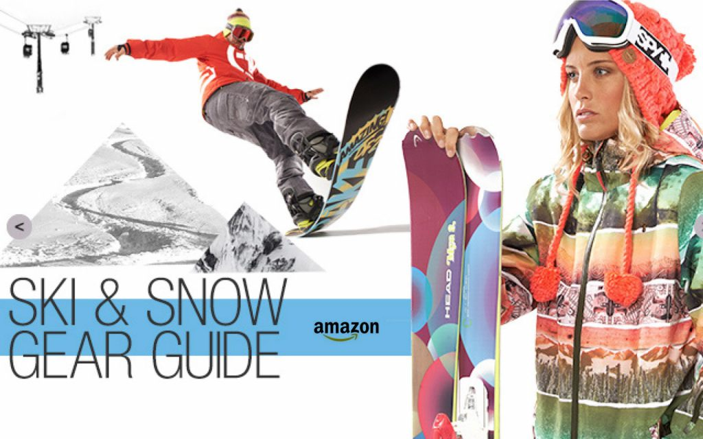 Amazon Ski & Snow Gear Guide